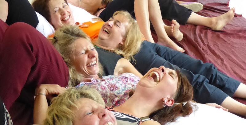 stage yoga du rire et club de rire