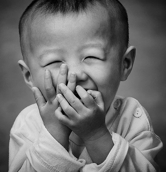 joie rire enfant