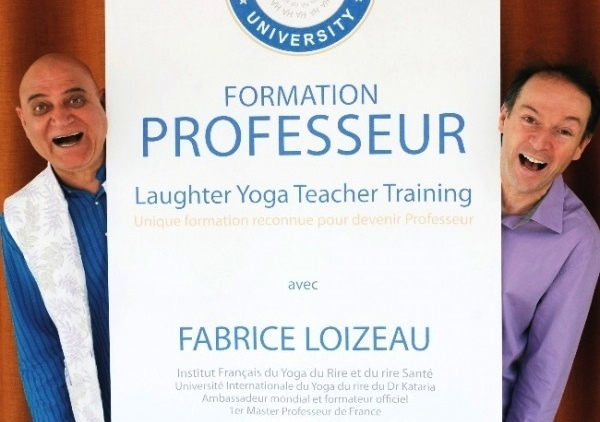 formation professeur yoga du rire
